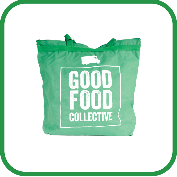 Good Food Collective Large Zipper Bag