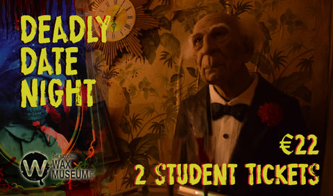 Deadly Date Night | 2 for 1 Student Ticket