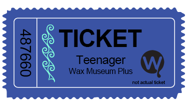 Teenager Heritage Week Discount Ticket
