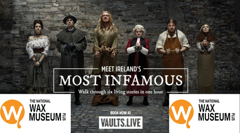 The Vaults & Wax Museum Adult combo ticket