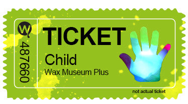 Child Entry with Wax Hand Combo Ticket