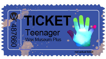 Teen Entry with Wax Hand Combo Ticket