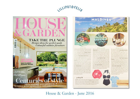 Lilliput & Felix in House & Garden June 2016