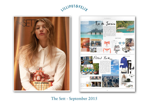 Lilliput & Felix in The Sett- September 2015