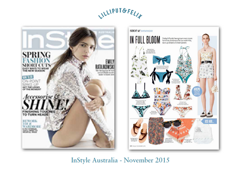 Lilliput & Felix in InStyle Australia- November 2015