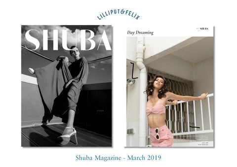 Lilliput & Felix in the Press - Shuba Magazine - March 2019