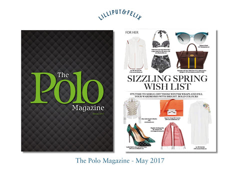 Luxury Retro High-Waisted Balconette Bikini- the Dahlia by Lilliput & Felix- in Reversible Black & Black Marble Print- featured in the Polo Magazine