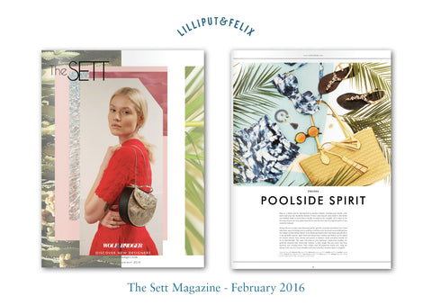 Lilliput & Felix in The Sett Magazine - Feb 2016