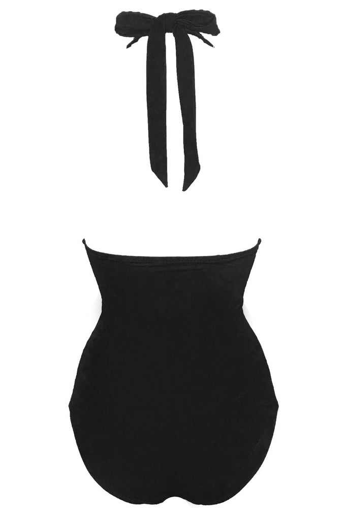 'Aphrodite' swimsuit in 'Noir'
