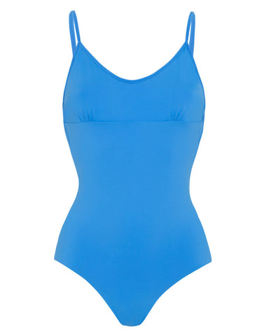 'Arabesque' reversible swimsuit in 'Blue Ink & Cobalt Blue'
