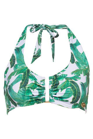'Aria' bikini top in 'Tropical'