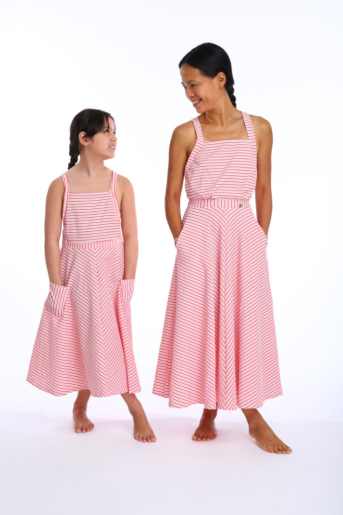 'Artemis Lilliput' dress in 'Red Candy' for Kids