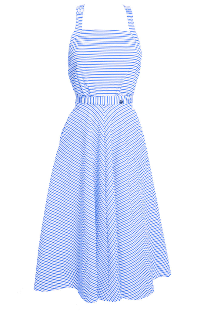'Artemis' dress in 'Blue Candy'