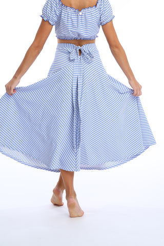 'Calypso' skirt in 'Blue Candy'