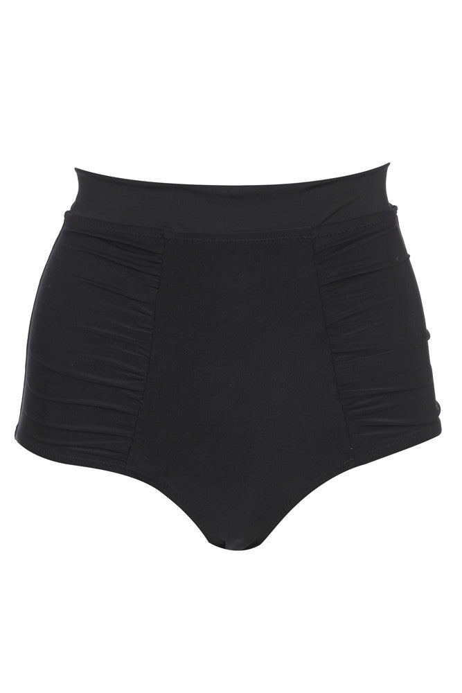 'Dahlia' high waisted bottoms in 'Black'