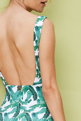 'Eirenne' swimsuit in 'Tropical'