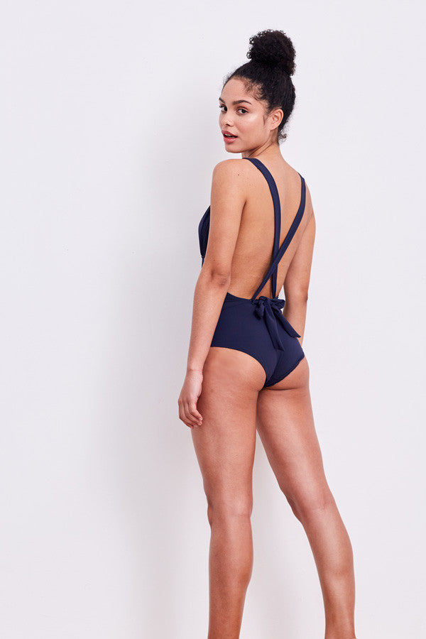 'Lilium' swimsuit in 'Midnight'