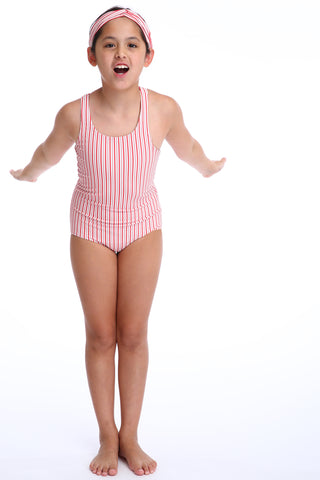 'Lilium Lilliput' swimsuit in 'Red Candy' for Kids