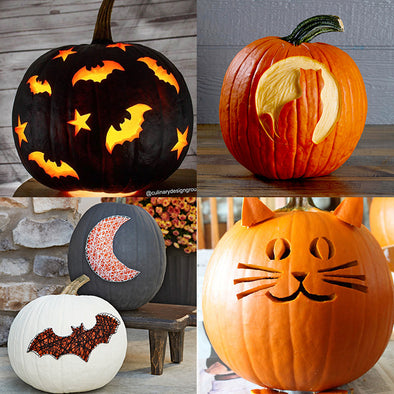 New Style Halloween - pumpkin carving tips, indoor activities and more...