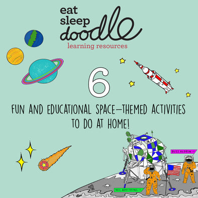 6 fun and educational space-themed activities to do at home!