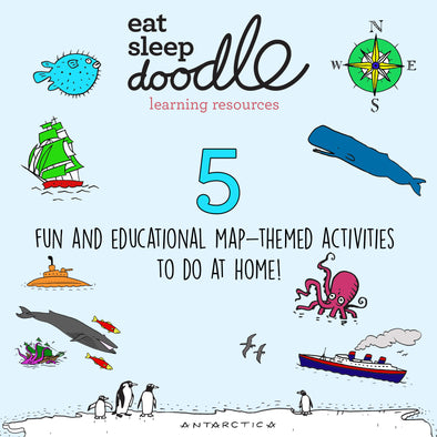 5 fun map-themed activities to do at home!