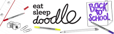 Get back to school with eatsleepdoodle!