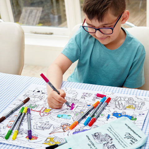 relaxing colouring for children