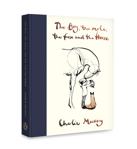 inspirational book by Charlie Mackesy: The Boy, The Mole, the Fox and The Horse