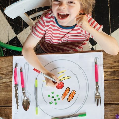 fun placemats for kids