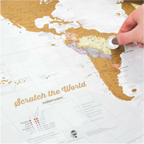 scratch map for sale