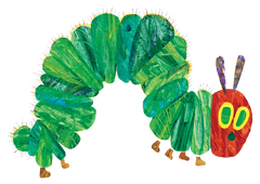The Very Hungry Catapillar by Eric Carle
