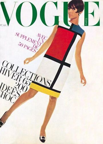 Mondrian Dress Vogue