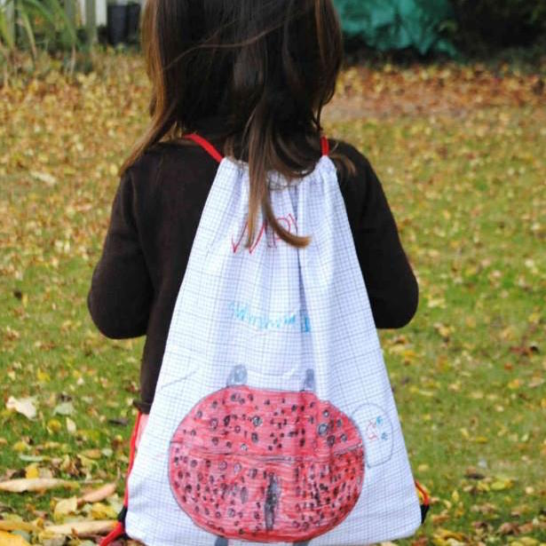 fun PE bags for kids to personalise