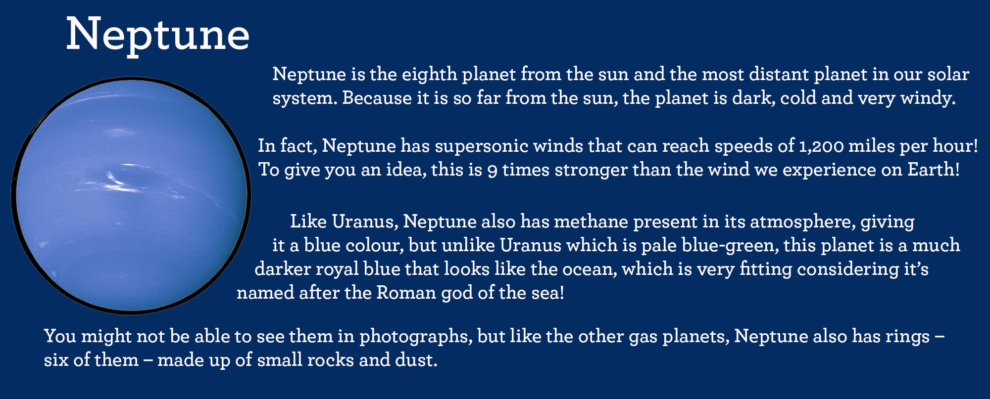 facts about planet neptune