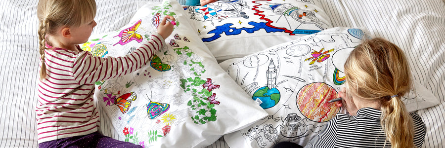 colour in pillowcases