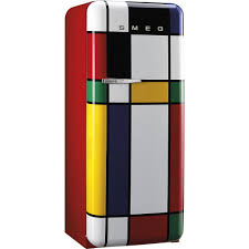 mondrian smeg fridge