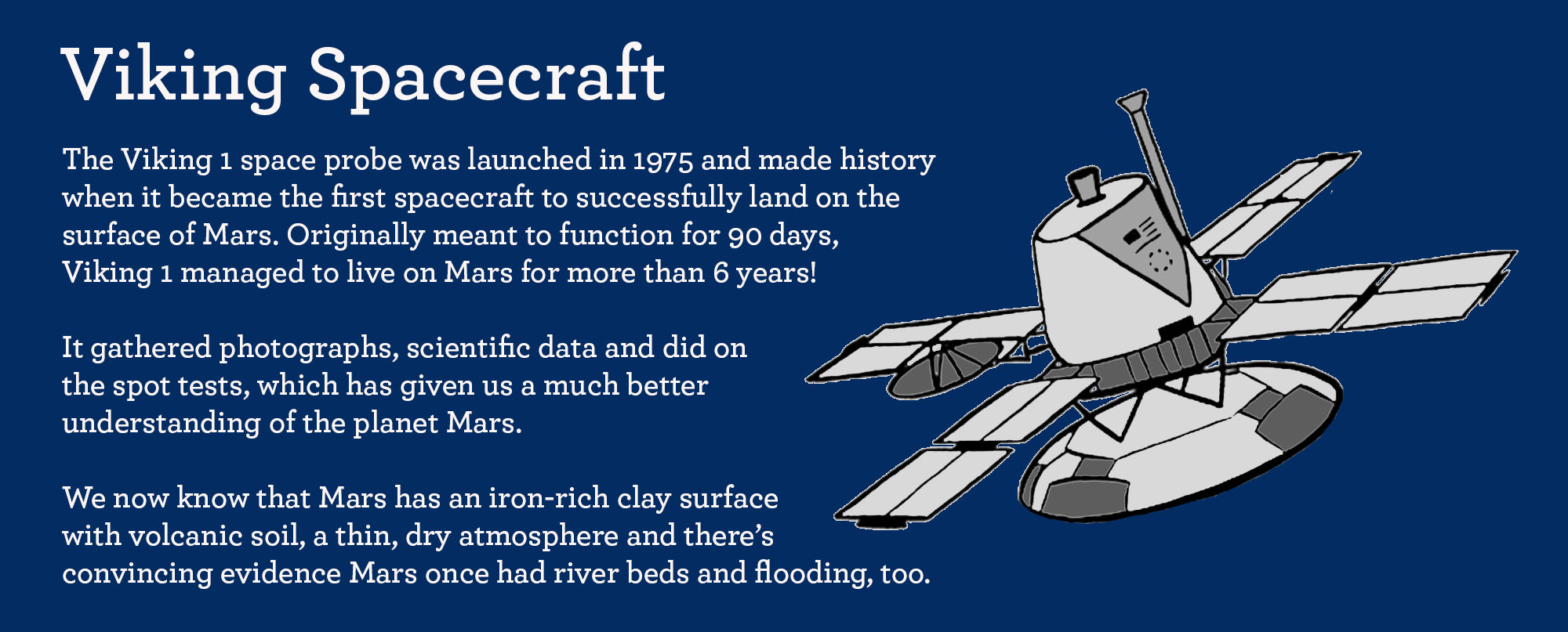 facts about viking 1 spacecraft