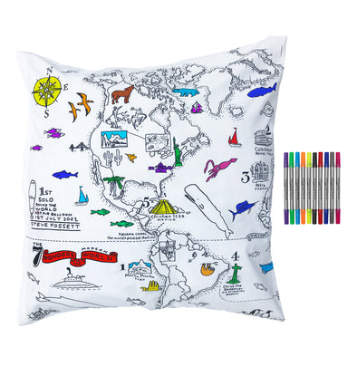 colour in map pillowcase