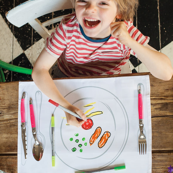 childrens party placemats