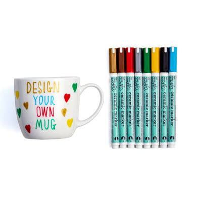 design your own mug with pens