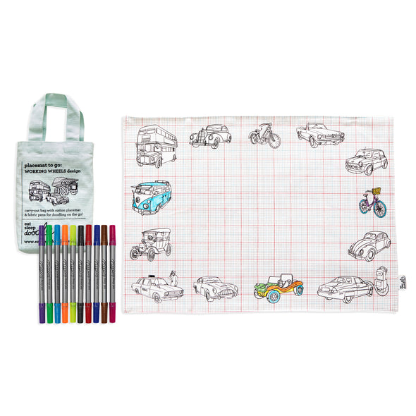colouring trucks and cars