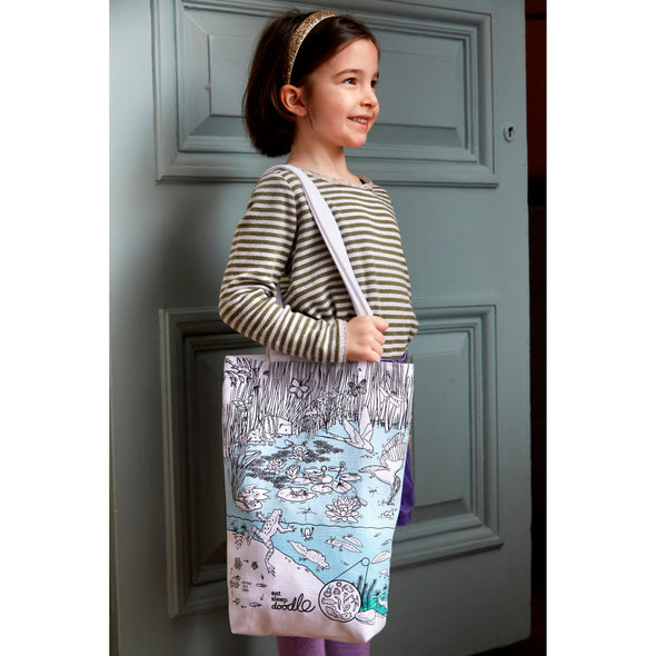 pond design carry bag for all ages