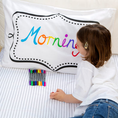 doodle notebook pillowcase - party pack of 10
