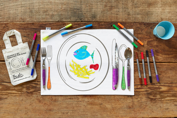 portable colour in placemat by eatsleepdoodle