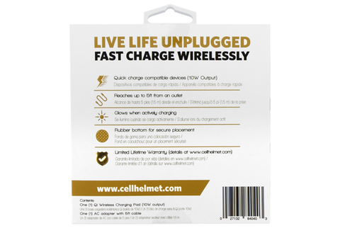Wholesale Fast Qi Wireless Charger by cellhelmet