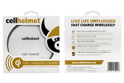 Fast Qi Wireless Charger Wholesale by cellhelmet