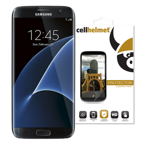 Samsung Galaxy S7 Edge TPU Screen Protectors by cellhelmet