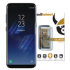 Samsung Galaxy S8+ Silver Case Friendly Tempered Glass Wholesale by cellhelmet