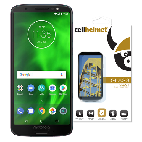 Wholesale Moto G6 Tempered Glass by cellhelmet