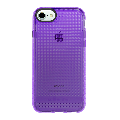 cellhelmet Altitude X Purple Case for Apple iPhone X
